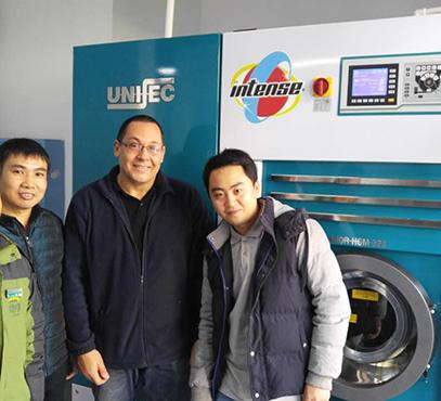 尤萨多溶剂干洗机再次升级可兼容到7种干洗环保溶剂