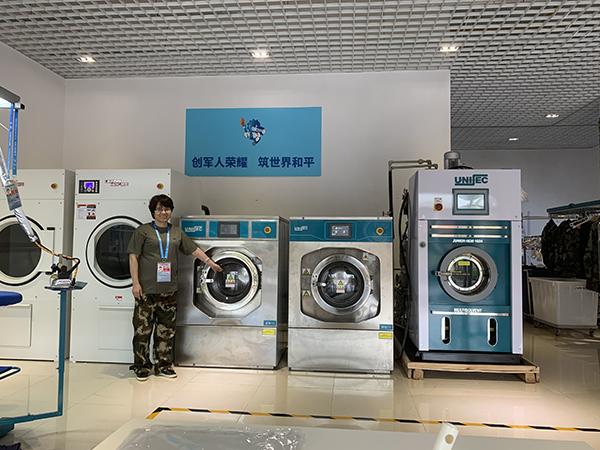 尤萨洗衣设备为世界军人运动会保驾护航!