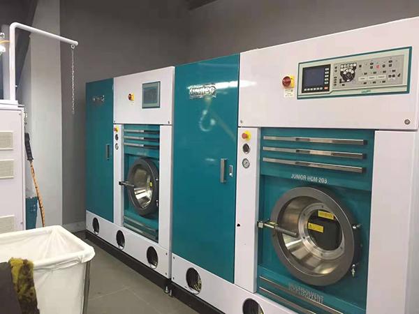 尤萨分析:多溶剂干洗机使用中的注意事项