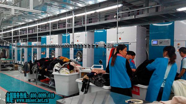 小型洗衣工厂设备需要投资多少钱?